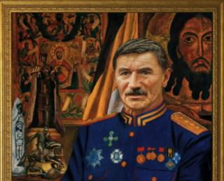 12 лет как с нами нету нашего друга, патриота, скульптора, генерал-полковника Клыкова В.М.