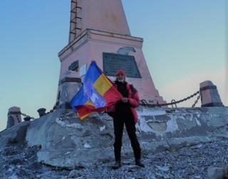 Закончилась казачья экспедиция у маяка мыса Дежнёва путешественника  Валентина Ефремова